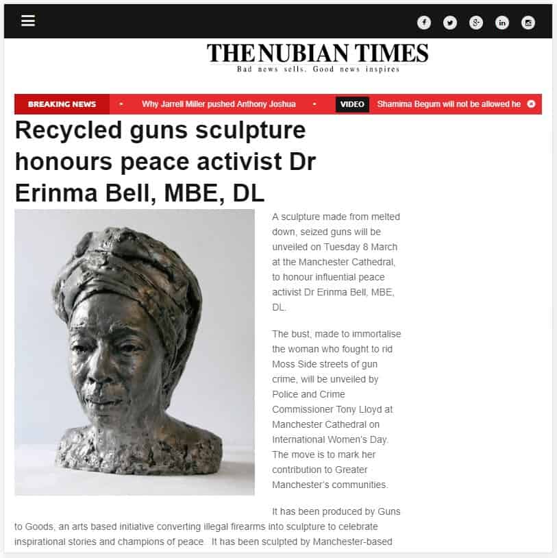 Pie Analysis - Dr Erinma Bell MBE - The Nubian Times