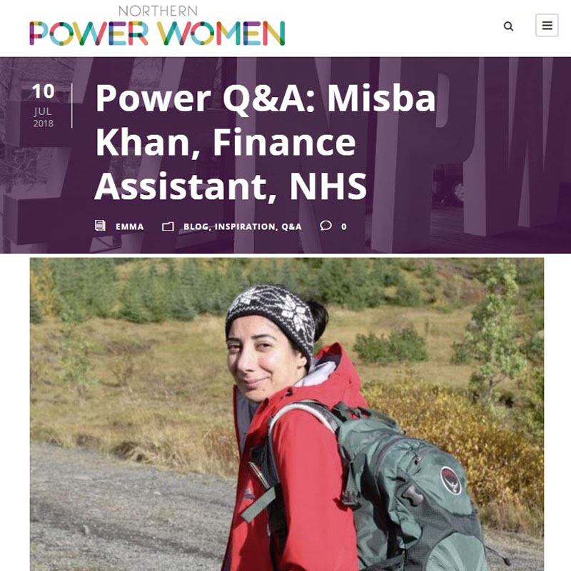 Pie Analysis - Misba Khan - Northern Power Women