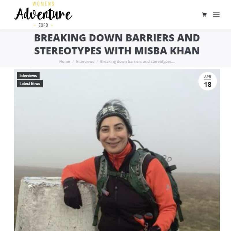 Pie Analysis - Misba Khan - Womens Adventure Expo