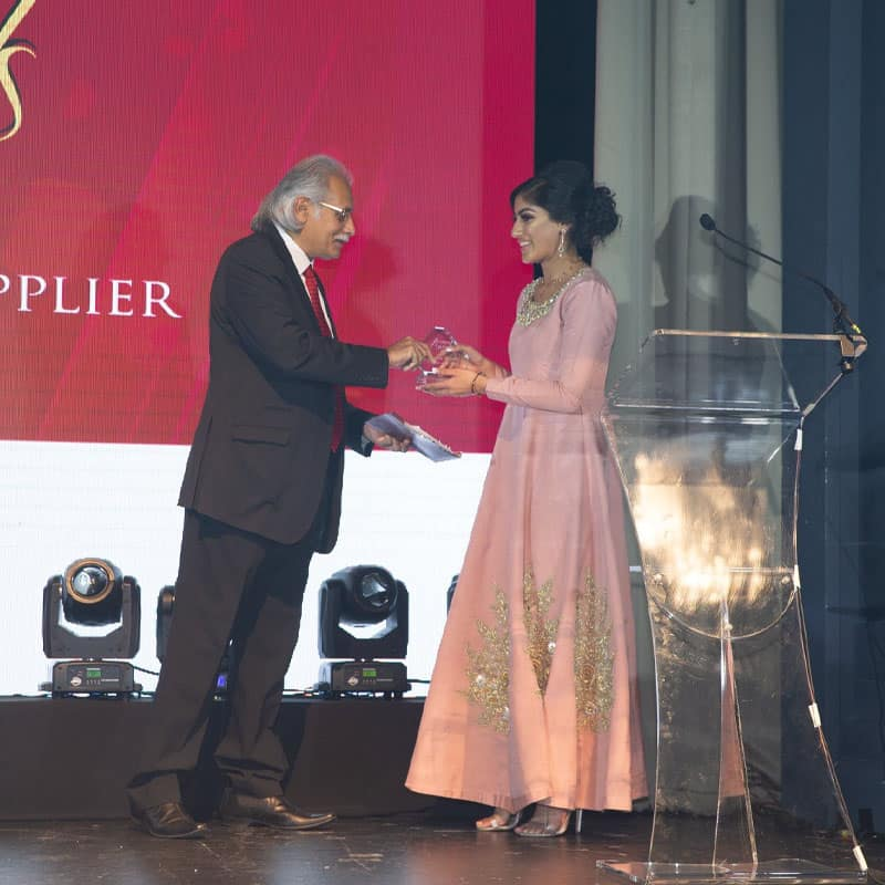 Pie Analysis - Zoya Imtiaz - Receiving Award